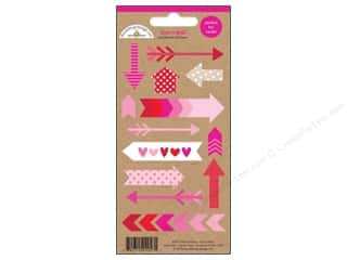 Doodlebug Sticker Sweetheart Little Arrows Icon