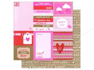 Love & Romance Hot: Doodlebug Paper 12 x 12 in. Sweetheart Secret Admirer (25 pieces)