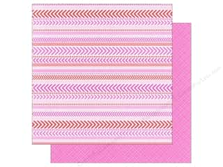 Doodlebug Hot: Doodlebug Paper 12 x 12 in. Sweetheart True Love Tweed (25 pieces)