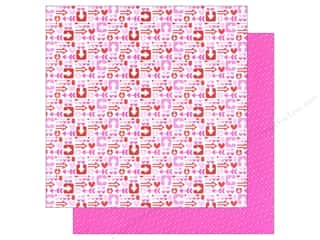 Doodlebug Hot: Doodlebug Paper 12 x 12 in. Sweetheart Cupid's Arrow (25 pieces)
