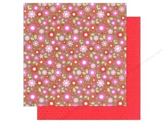 Doodlebug Hot: Doodlebug Paper 12 x 12 in. Sweetheart Blushing Blossoms (25 pieces)