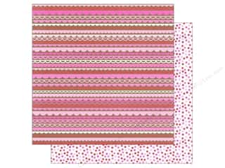 Doodlebug Hot: Doodlebug Paper 12 x 12 in. Sweetheart Romantic Ruffles (25 pieces)