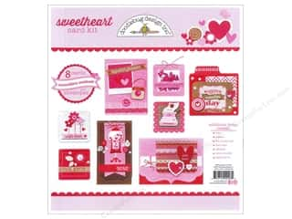 Love & Romance paper dimensions: Doodlebug Card Kit Sweetheart