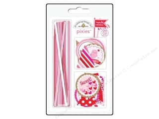 Cooking/Kitchen Valentine's Day: Doodlebug Embellishment Sweetheart Pixies Assorted