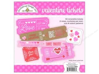 Craft Embellishments Valentine's Day: Doodlebug Embellishments Valentine Tickets
