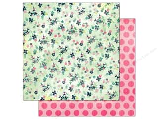 BasicGrey 12 x 12: BasicGrey 12 x 12 in. Paper Fresh Cut Sweet Pea Square (25 pieces)