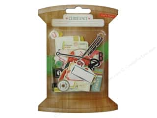 Crate Paper Embel Close Knit Ephemera Pack
