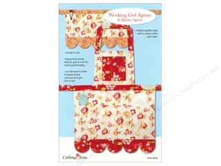 Cabbage Rose: Cabbage Rose Working Girl Apron Pattern