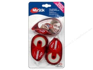 3L $2 - $3: 3L Scrapbook Adhesives MyStik Permanent Strips Value Pack 1 Dispenser + 2 Refills