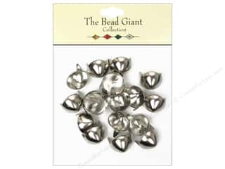 The Bead Giant Nailhead Cone 1/2 in. Silver 20 pc.