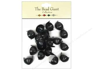 Metal & Tin: The Bead Giant Collection Nailhead Cone 1/2 in. Black 20 pc.