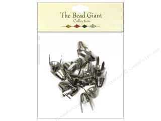 The Bead Giant Nailhead Spike Small Silver 16 pc.