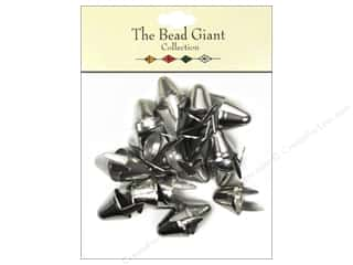 The Bead Giant Nailhead Spike Large Silver 20 pc.