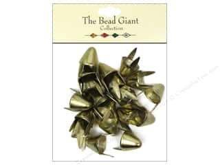 Tin Containers Clearance Crafts: The Bead Giant Collection Nailhead Spike Large Gold 20 pc.