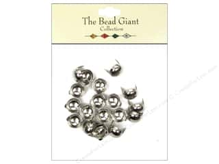 Metal & Tin $8 - $10: The Bead Giant Collection Nailhead Dome 3/8 in. Silver 20 pc.