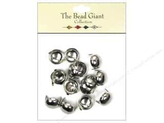 The Bead Giant Nailhead Dome 1/2 in. Silver 16 pc.