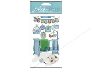 Jolee's Boutique Stickers Baby Boy Nursery