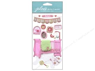 Jolee's Boutique Stickers Baby Girl Nursery