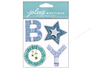 Yarn Captions: Jolee's Boutique Stickers Baby Boy Yarn Word