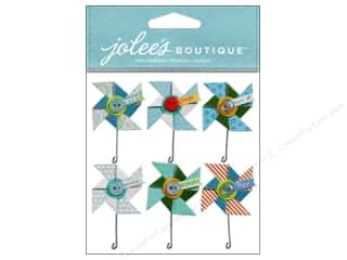Jolee's Boutique Stickers Baby Boy Pinwheels Repeat