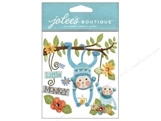 Jolee's Boutique Stickers Baby Boy My Little Monkey