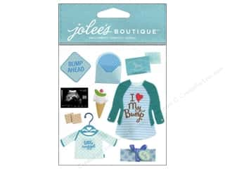 Lights $3 - $9: Jolee's Boutique Stickers Baby Boy Pregnancy
