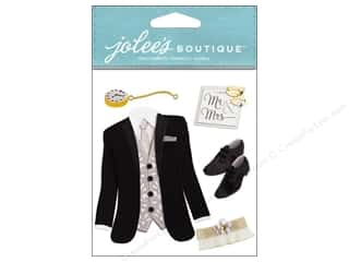 Wedding Brown: Jolee's Boutique Stickers Tuxedo
