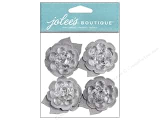 Jolee's Boutique Stickers Layered Flowers Bling