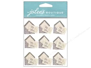 Wedding Brown: Jolee's Boutique Stickers Mr. & Mrs. Envelope Repeat