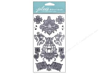 Jewel Craft Black: Jolee's Boutique Stickers Bling Jewel Clusters