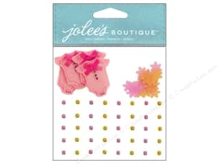Jolee's Boutique Stickers Baby Girl Confetti And Gems