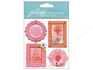 Jolee's Boutique Stickers Baby Girl Mini Frames