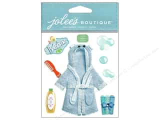 Jolee's Boutique Stickers Baby Boy Bath Time