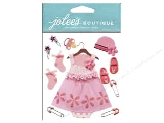 Socks Pink: Jolee's Boutique Stickers Baby Girl Outfit