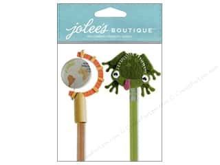 Jolee's Boutique Stickers School Pencil Toppers