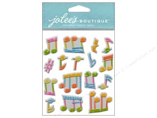 Jolee's Boutique Stickers Music Notes Repeat