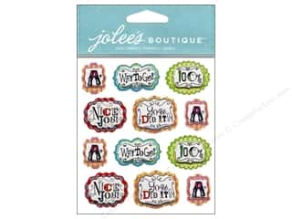 sticker: Jolee's Boutique Stickers Teacher Words Repeat