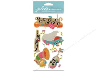 Music & Instruments Stickers: Jolee's Boutique Stickers Music