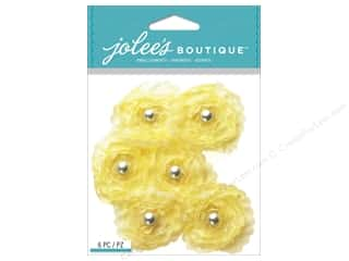 Valentines Day Gifts Stickers: Jolee's Boutique Stickers Yellow Small Florals