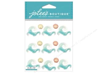 Beach & Nautical EK Jolee's Boutique: Jolee's Boutique Stickers Waves Repeat