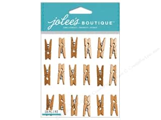 Clips Gifts: Jolee's Boutique Stickers Gold Clips Repeat