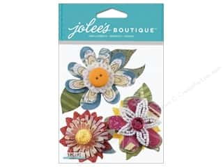 sticker: Jolee's Boutique Stickers Collage Flowers