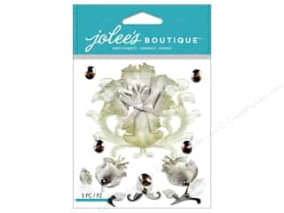 Jolee's Boutique Stickers Vintage Paper Flowers