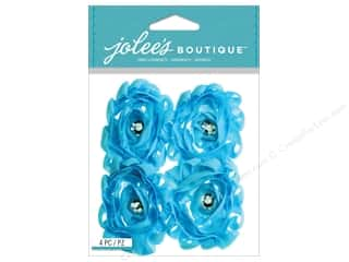 Jolee's Boutique Stickers Light Blue Large Florals