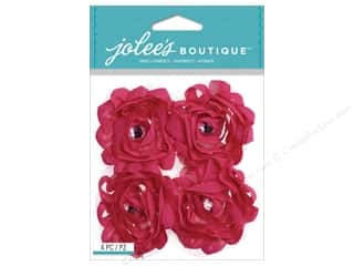 EK Success EK Jolee's Stickers: Jolee's Boutique Stickers Pink Large Florals