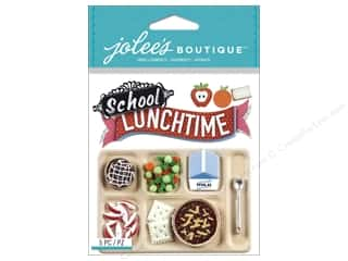 School Brown: Jolee's Boutique Stickers School Lunch