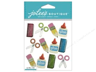 2013 Crafties - Best Quilting Supply: Jolee's Boutique Stickers School Supplies Repeat