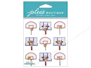 Jolee's Boutique Stickers Basketball Backboard Repeat
