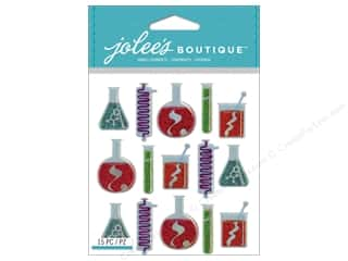 Jolee's Boutique Stickers Beakers & Test Tube Repeat