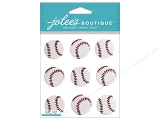 Jolee's Boutique Stickers Baseball Repeat